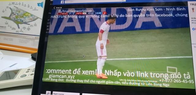 Vi phạm bản quyền truyền hình World Cup 2018 diễn ra nhan nhản tại Việt Nam