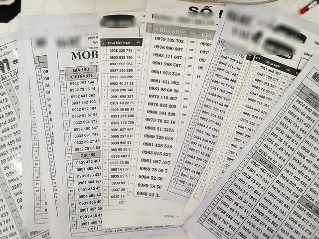 SIM 11 số đã vắng bóng trên các tờ rơi bán SIM mới