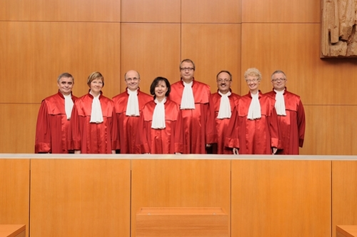 Thẩm phán nước Đức - quốc gia theo hệ thống Dân luật.