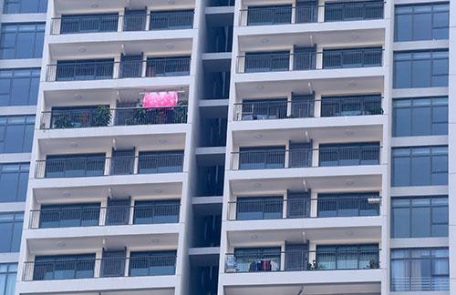 Nhiều hộ dân đã vào sinh sống trong chung cư cao cấp chưa được thẩm duyệt về phòng cháy chữa cháy. Ảnh:Phương Sơn