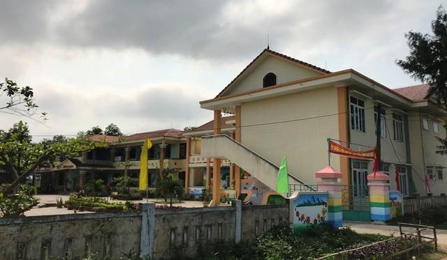 Trường Mầm non xã Tân Thủy, nơi bà Dương Thị Thúy Hà, Hiệu trường nhà trường đơn phương chấm dứt hợp đồng lao động với chị Dương Thị Nhung.