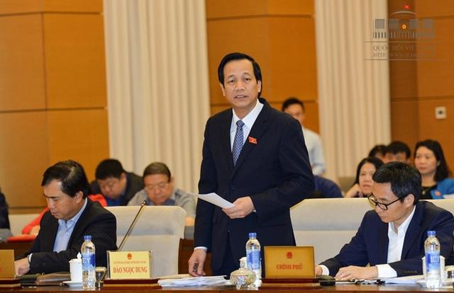 Bộ trưởng Đào Ngọc Dung nhận 50 đơn thư mỗi ngày - Ảnh 1.