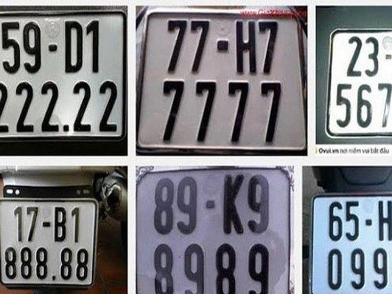 Chuẩn bị đấu giá biển số xe ô tô - ảnh 1