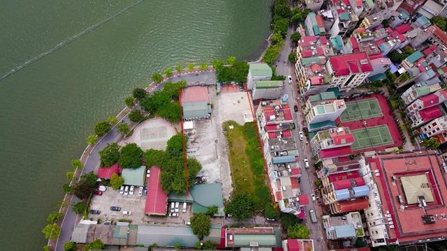 Trước đây, khu đất này được sử dụng làm bãi trông và bảo dưỡng xe.