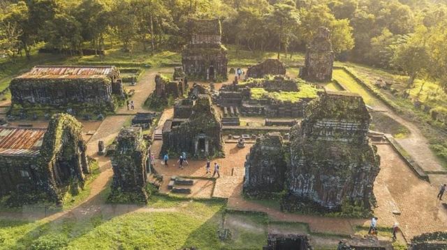 Tôn tạo nhiều tháp cổ trong quần thể di sản văn hóa Mỹ Sơn - Ảnh 1.