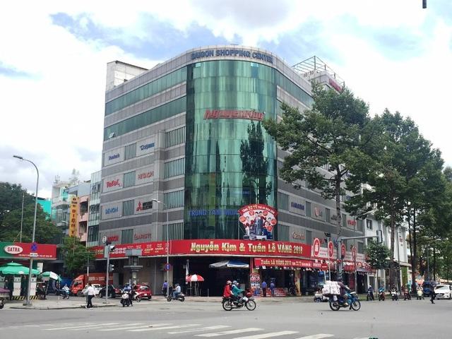 Cục Thuế TPHCM đã ra quyết định cưỡng chế thuế đối với Công ty Cổ phần Thương mại Nguyễn Kim. Ảnh: Đại Việt
