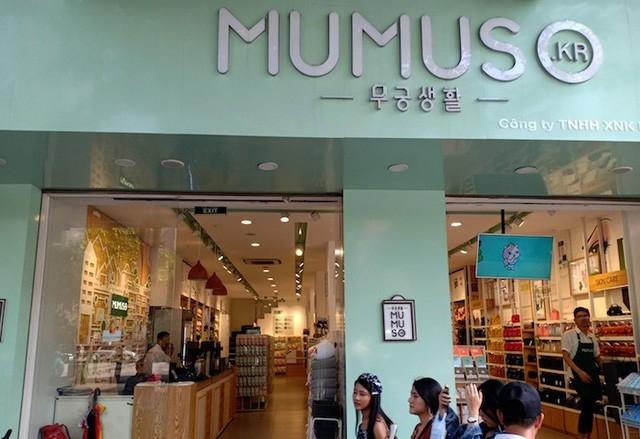 Mumuso tự quảng cáo là chất lượng Hàn Quốc nhưng có tới hơn 99% là hàng Trung Quốc.