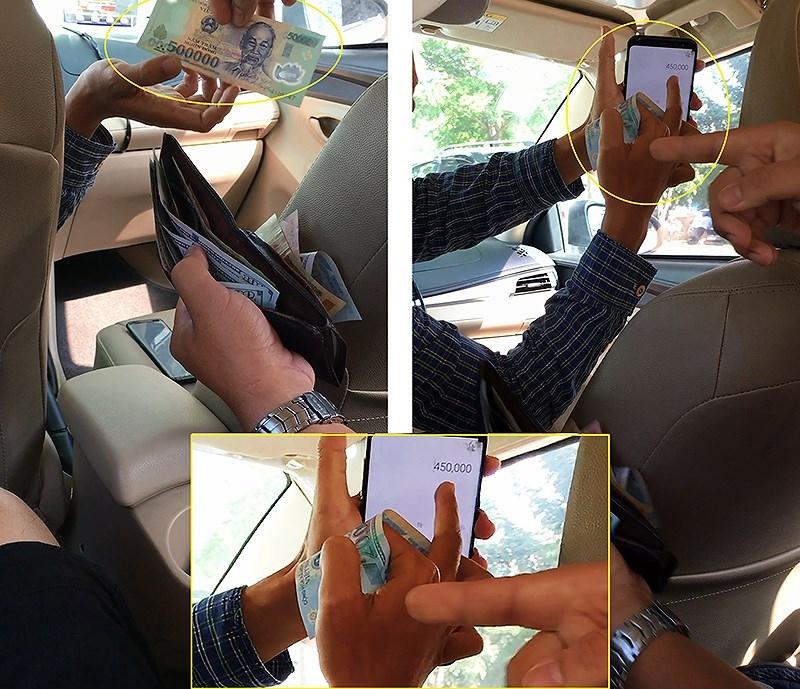 Vinasun trình báo 22 vụ taxi dỏm giật tiền du khách - ảnh 2