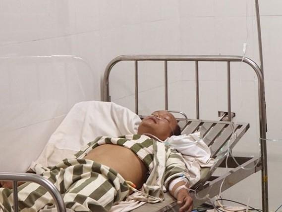 """Ông Doanh có biểu hiện """"loạn thần cấp"""" khi đến điều trị tại Bệnh viện Đa khoa tỉnh Đắk Nông"""