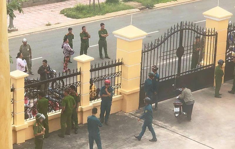 VKS và phóng viên bị hành hung tại tòa - ảnh 1