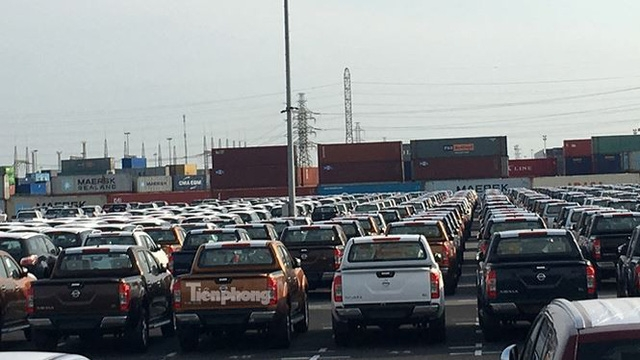 Trong đó, 97% số xe này được đăng ký tờ khai nhập khẩu chủ yếu ở cửa khẩu khu vực cảng thành phố Hồ Chí Minh và Hải Phòng