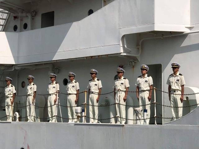 Có 80 thuỷ thủ, học viên thuộc Học viện Lực lượng Bảo vệ bờ biển Nhật Bản cùng tàu Kojima đến Đà Nẵng
