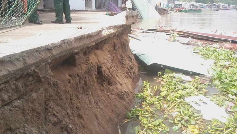 Hồ chứa thượng nguồn Mekong gây xói lở nghiêm trọng ĐBSCL - ảnh 1