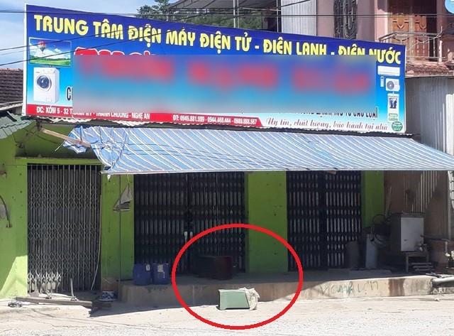 Hiện trường một vụ siết nợ sau khi vỡ hụi ở xã Thanh Mỹ (huyện Thanh Chương, Nghệ An) vào cuối năm 2017
