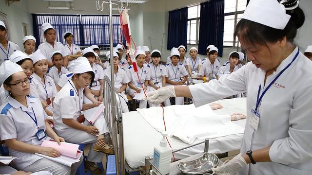 Việt Nam sắp có trường đầu tiên đào tạo tiến sĩ điều dưỡng - Ảnh 1.