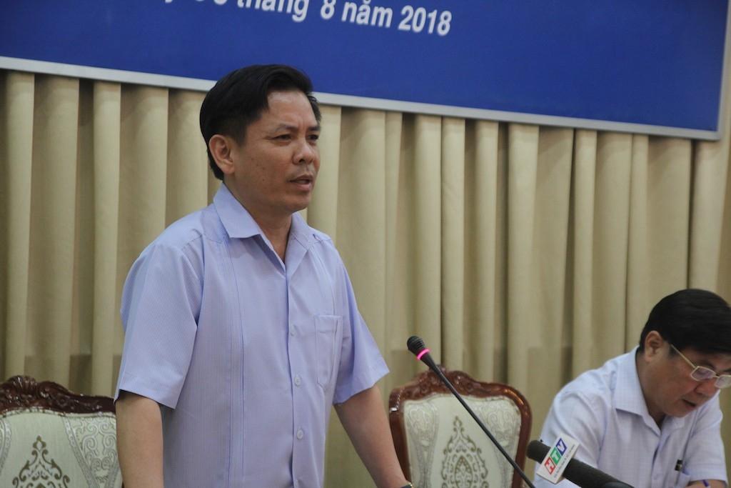 Bộ trưởng Bộ Giao thông vận tải Nguyễn Văn Thể cho rằng giao thông cửa ngõ TPHCM còn hạn chế so với Hà Nội