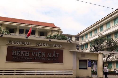 Sai phạm xảy ra tại Bệnh viện Mắt TP HCM. Ảnh: Tuyết Nguyễn.