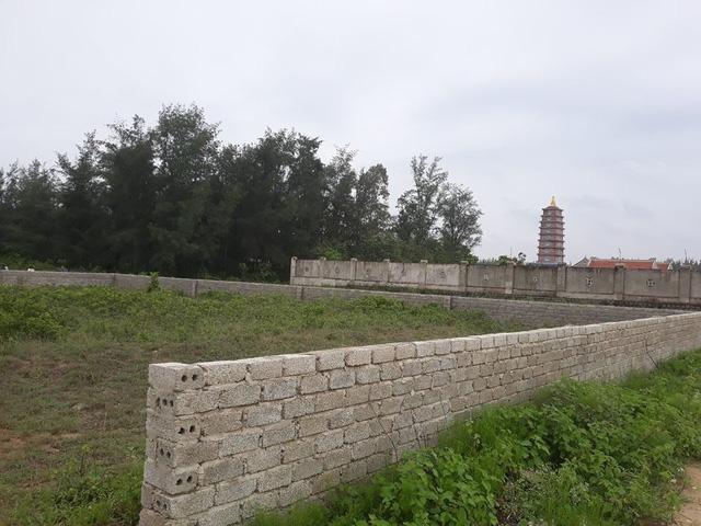 26 lô đất bên cạnh chùa Diên Phúc được ưu ái cấp cho toàn cán bộ xã.
