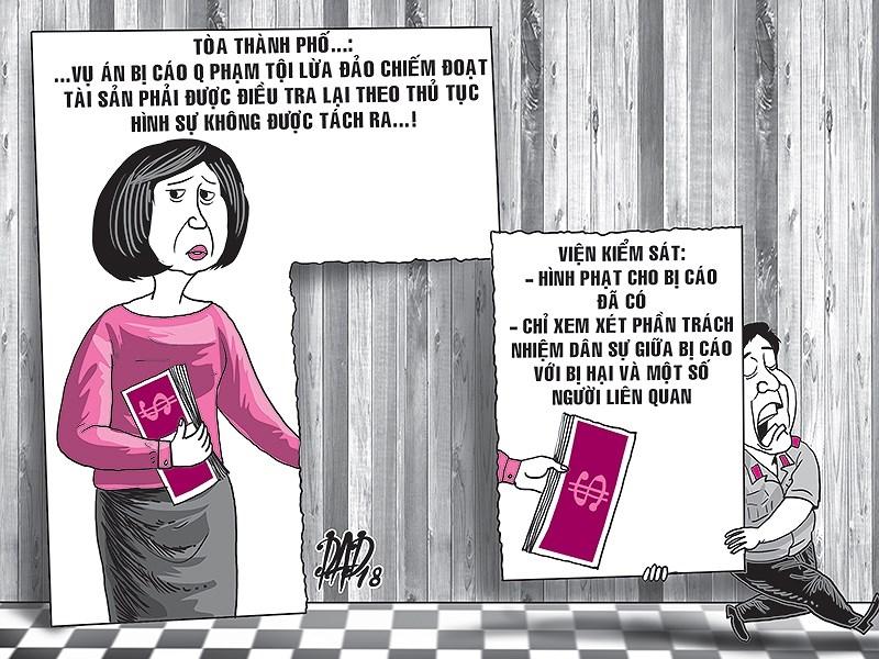 'Tìm tiền' cho nữ đại gia, tòa, viện chỏi nhau - ảnh 1