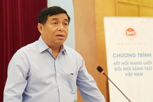 Ông Nguyễn Chí Dũng,Bộ trưởng Kế hoạch và Đầu tư phát biểu tại cuộc họp báo ngày 9/8. Ảnh: Anh Minh