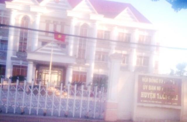 UBND huyện Thới Bình, tỉnh Cà Mau.