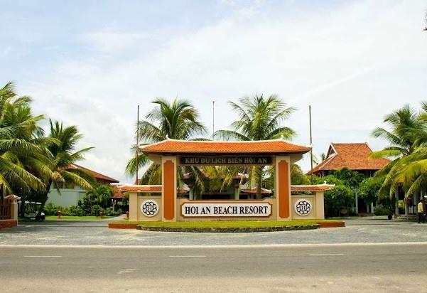 Khu du lịch Hội An Beach Resort.