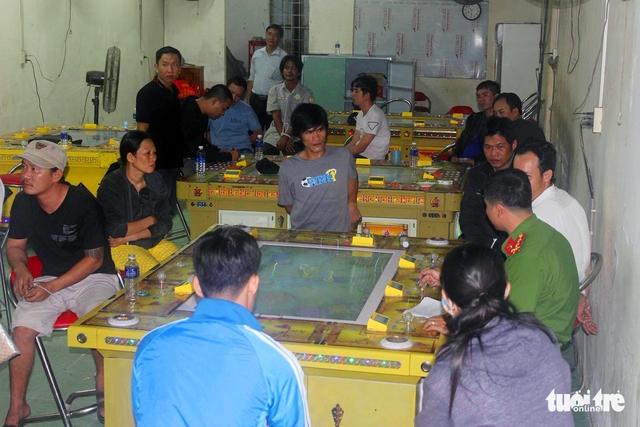Bắt tụ điểm cờ bạc trá hình game bắn cá tại TP Biên Hòa - Ảnh 1.