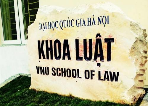 Ảnh: FB/Khoa Luật - Đại học Quốc gia Hà Nội