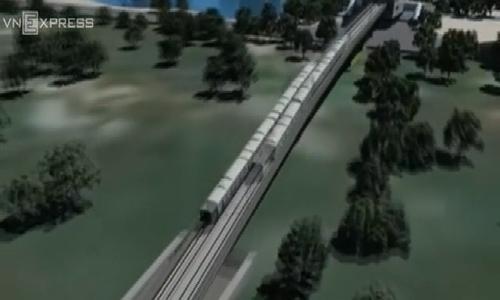 Trải nghiệm 3D tuyến đường sắt xuyên lòng đất trung tâm Hà Nội