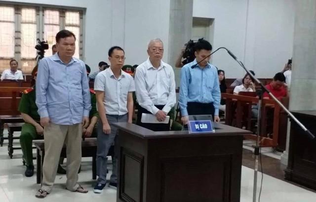 Các bị cáo nguyên là cán lãnh đạo PVTex và PVC Kinh Bắc.