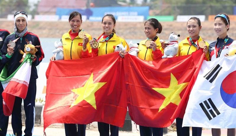 Bảng vàng thành tích của thể thao Việt Nam tại Á vận hội 2018 - ảnh 1