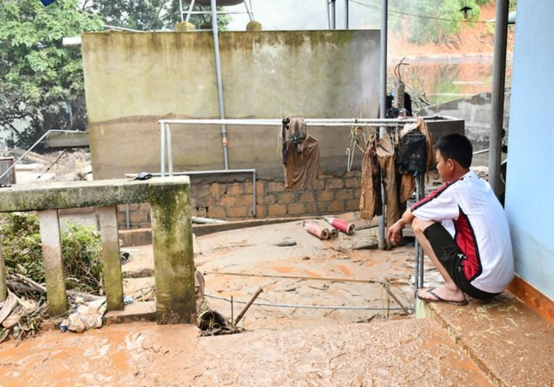 Lào Cai: Vỡ bờ bao hồ chứa quặng thải Nhà máy DAP số 2 - ảnh 2