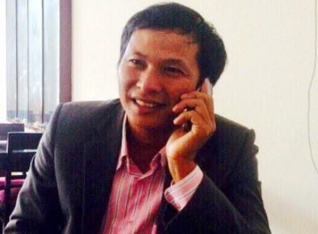 Ông Phan Khánh, Chủ tịch UBND xã Phong Hải, viết đơn xin từ chức (ảnh: H.T)