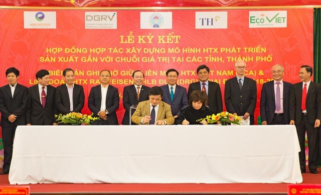 Lễ ký kết hợp tác giữa Liên Minh HTX Việt Nam với Ngân hàng TMCP Bắc Á