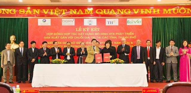 Lễ ký kết biên bản ghi nhớ giữa Liên minh HTX Việt Nam và Ngân hàng TMCP Bắc Á