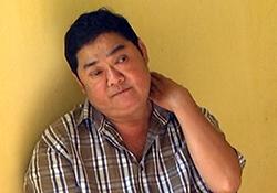 Nguyễn Ngọc Thắng tại cơ quan công an. Ảnh: Thế Phong