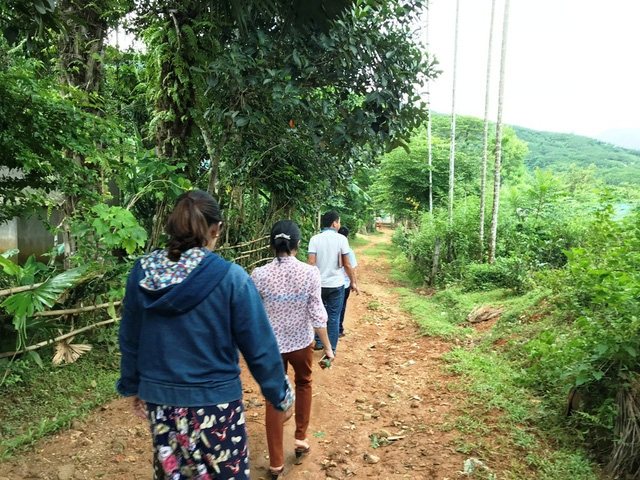 """Xã Tiền Phong, huyện Quế Phong được xem là """"tâm bão H"""" với hơn 412 người có HIV."""