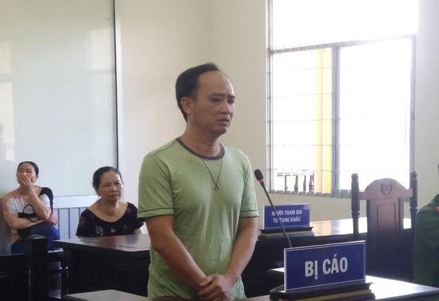 Bùi Mạnh Đồng tại phiên xét xử hôm nay