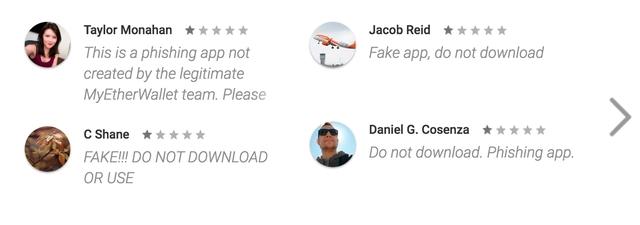 Hàng loạt bình luận của người dùng cảnh báo ứng dụng giả.