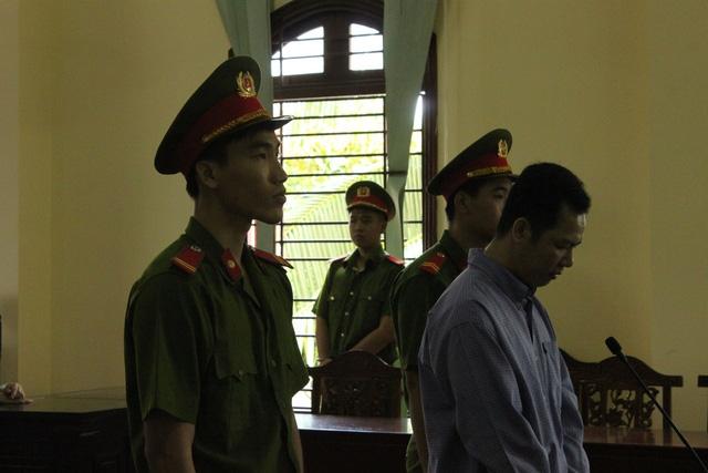 Bị cáo Tín tại phiên tòa hôm nay
