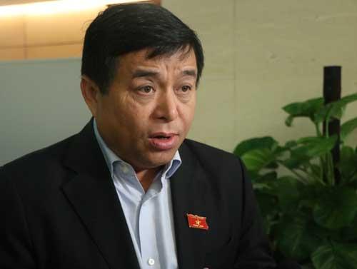 Bộ trưởng Kế hoạch & Đầu tư Nguyễn Chí Dũng. Ảnh: Võ Hải