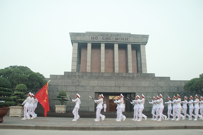 Lễ thượng cờ rủ cố Tổng Bí thư Đỗ Mười - ảnh 10