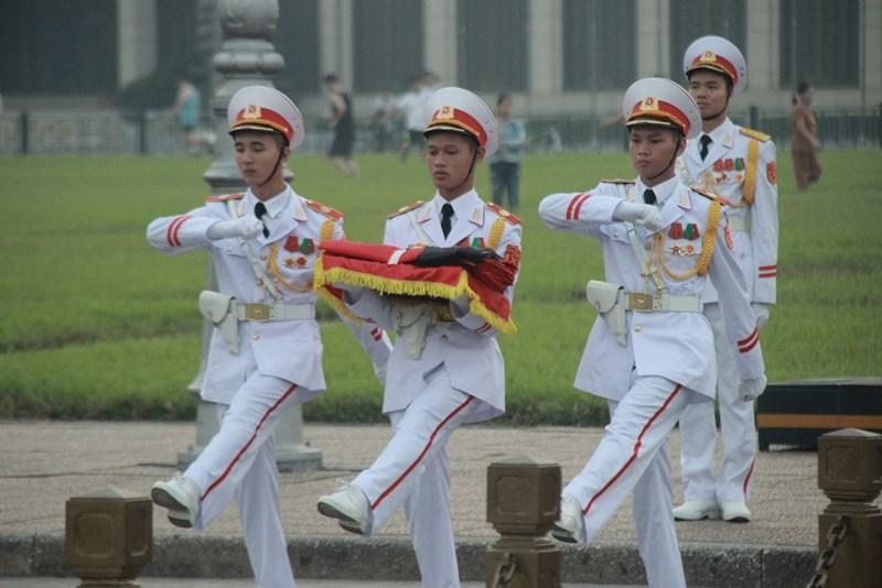 Lễ thượng cờ rủ cố Tổng Bí thư Đỗ Mười - ảnh 2
