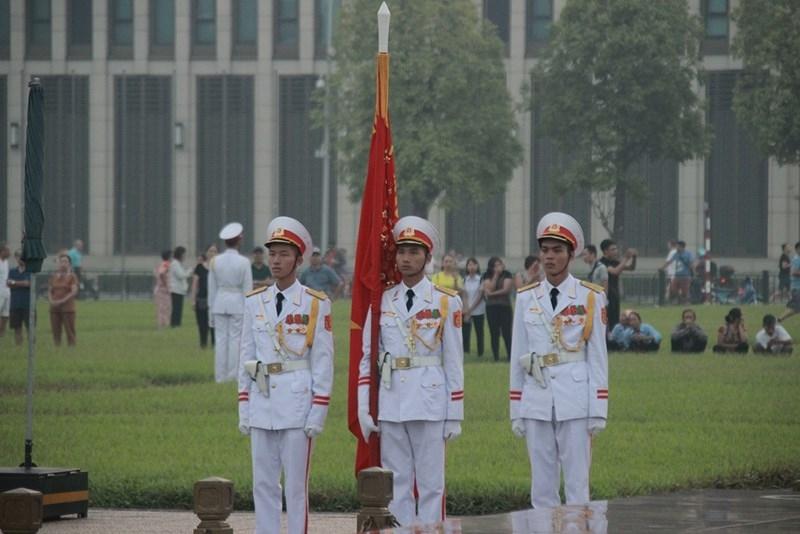 Lễ thượng cờ rủ cố Tổng Bí thư Đỗ Mười - ảnh 4