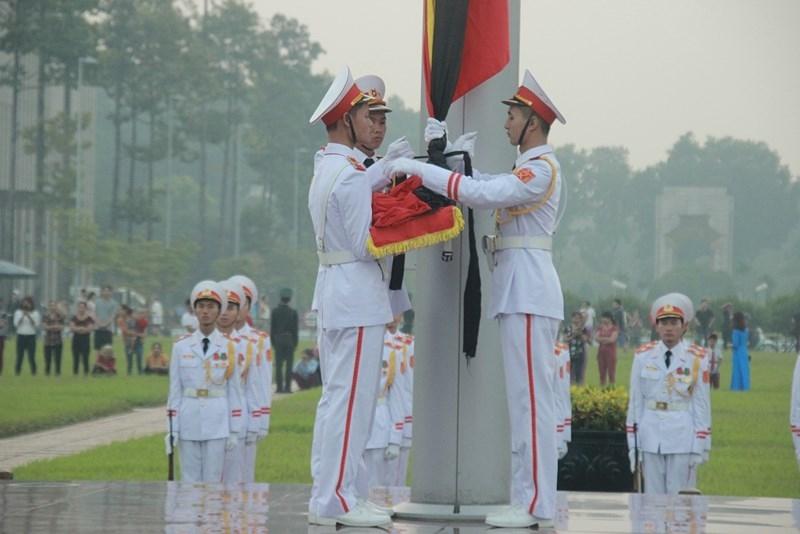 Lễ thượng cờ rủ cố Tổng Bí thư Đỗ Mười - ảnh 5