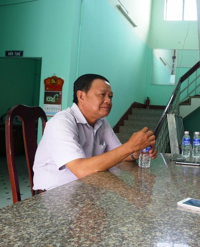 Trước những sai phạm của ông Huỳnh Minh Tâm - Trưởng Phòng GD-ĐT huyện Vĩnh Thuận, BCH huyện ủy Vĩnh Thuận đã thống nhất với hình thức kỷ luật cảnh cáo đối với ông Tâm.