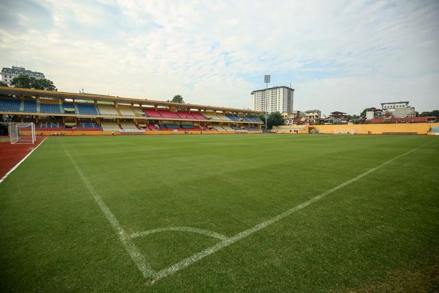 Mặt sân Hàng Đẫy được đánh giá là một trong những mặt sân tốt nhất Việt Nam thời điểm này.
