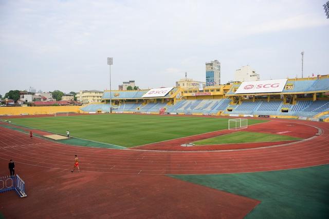Sân vận động Hàng Đẫy được khánh thành vào năm 1958.