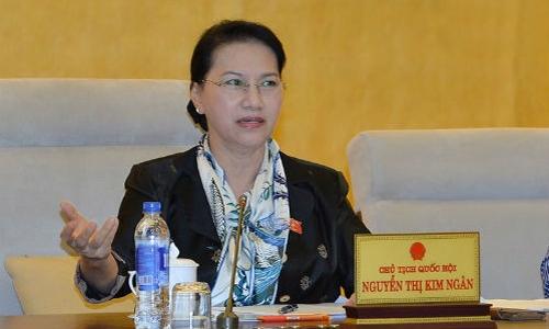 Bà Nguyễn Thị Kim Ngân - Chủ tịch Quốc hội. Ảnh: VPQH