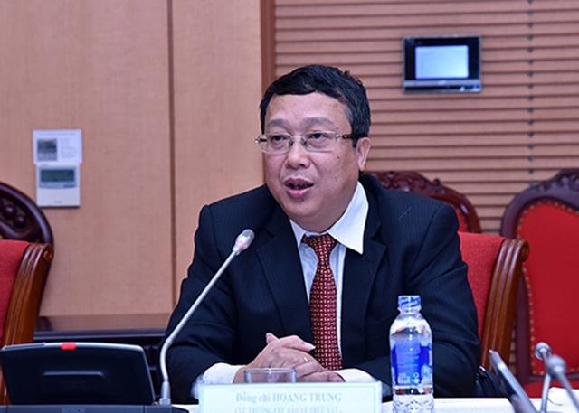Ông Hoàng Trung - Cục trưởng Cục Bảo vệ thực vật.
